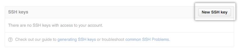 GitHubのSSH kyesの登録